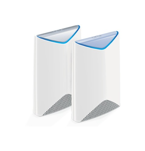 Netgear Orbi Pro Tri-Band Business WiFi System + 4x Orbi Pro Ceiling Add-on Satellite wireless router Tri-band (2.4 GHz / 5 GHz / 5 GHz) Gigabit Ethernet White