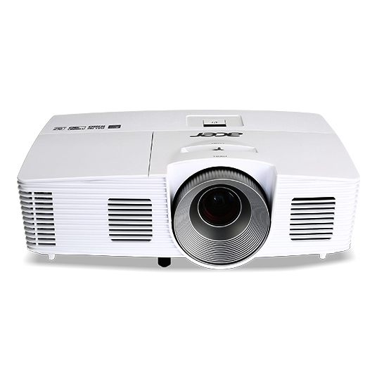 Acer Home MR.JQ011.001 beamer/projector 3500 ANSI lumens DLP 1080p (1920x1080) Ceiling-mounted projector Wit