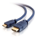 """C2G Velocity HDMI Mini to HDMI 1m HDMI cable 39.4"""" (1 m) HDMI Type C (Mini) HDMI Type A (Standard) Black"""