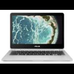 """ASUS Chromebook Flip C302CA-DHM4 Grey 12.5"""" 1920 x 1080 pixels Touchscreen 0.9 GHz Intel® Core™ M m3-6Y30"""