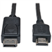 Tripp Lite DP - HDMI, m-m, 7.62m 7.62m DisplayPort HDMI Black,Metallic