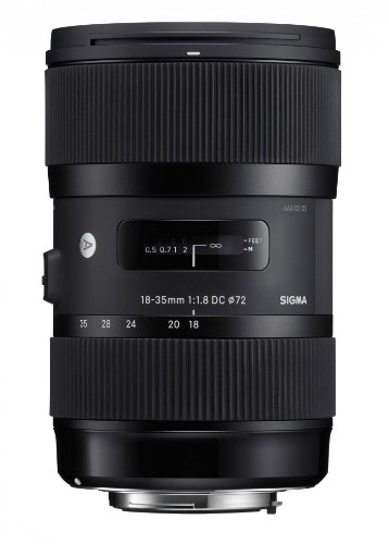 Sigma 18-35mm F1.8 DC HSM IP Camera Standard lens Black
