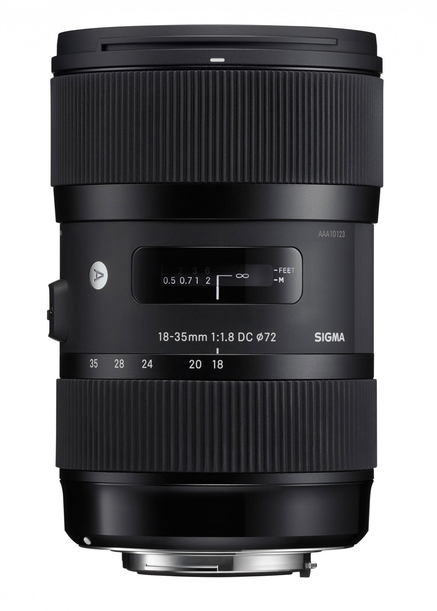 18-35mm f/1.8 DC HSM Black - Nikon