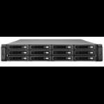 QNAP REXP-1200U-RP disk array Black