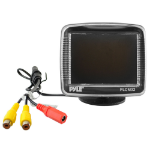 "Pyle PLCM32 3.5"" 640 x 480pixels Black car TFT monitor"