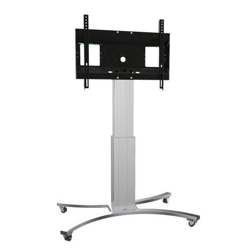 Conen Mounts Motorized mobile flat screen tv cart, 50 cm of vertical travel