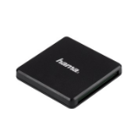 Hama 00124022 card reader Black USB 3.2 Gen 1 (3.1 Gen 1) Type-A