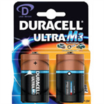 Duracell Ultra Power D Alkaline 1.5V non-rechargeable battery