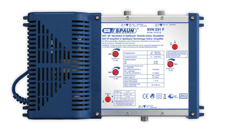 Spaun SVN 231 F video switch