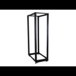 StarTech.com 4POSTRACK42 rack cabinet 42U Freestanding rack Black
