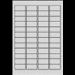 Avery Anti-tamper Label - Laser - L6113 White Self-adhesive printer label