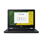 "Acer Chromebook Spin 11 R751TN-C1Y9 Black Hybrid (2-in-1) 29.5 cm (11.6"") 1366 x 768 pixels Touchscreen Intel® Celeron® N 4 GB LPDDR4-SDRAM 32 GB Flash Chrome OS"