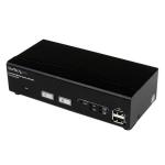 StarTech.com 2-poorts USB DVI KVM-schakelaar met DDM-snelschakeltechnologie en kabels
