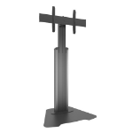 "Chief LFAUS 80"" Fixed Black,Silver flat panel floorstand"