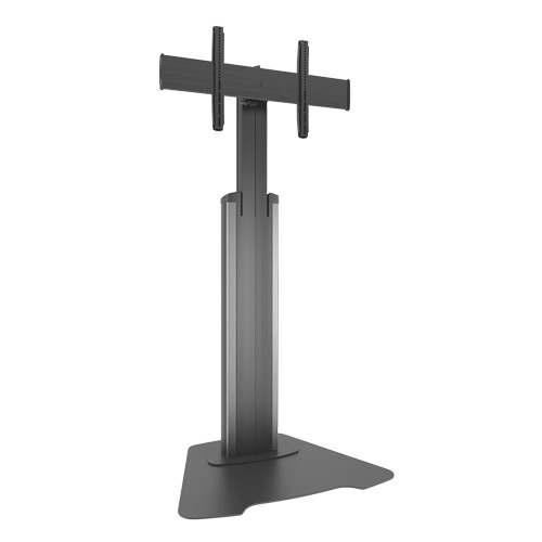 "Chief LFAUS flat panel floorstand 2.03 m (80"") Fixed flat panel floor stand Black,Silver"