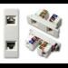 Vision TC2 2RJ45 2 x RJ45/RJ11 White wire connector
