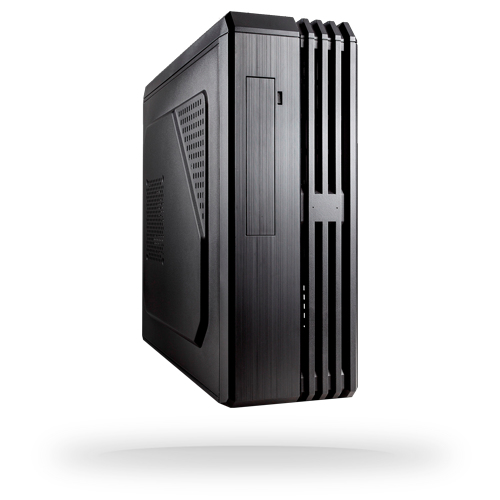Chieftec UC-02B-350GPB Tower 350W Black computer case