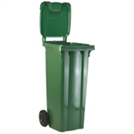 VFM REFUSE CONTAINER 120L 2 WHLD GRN 33 33