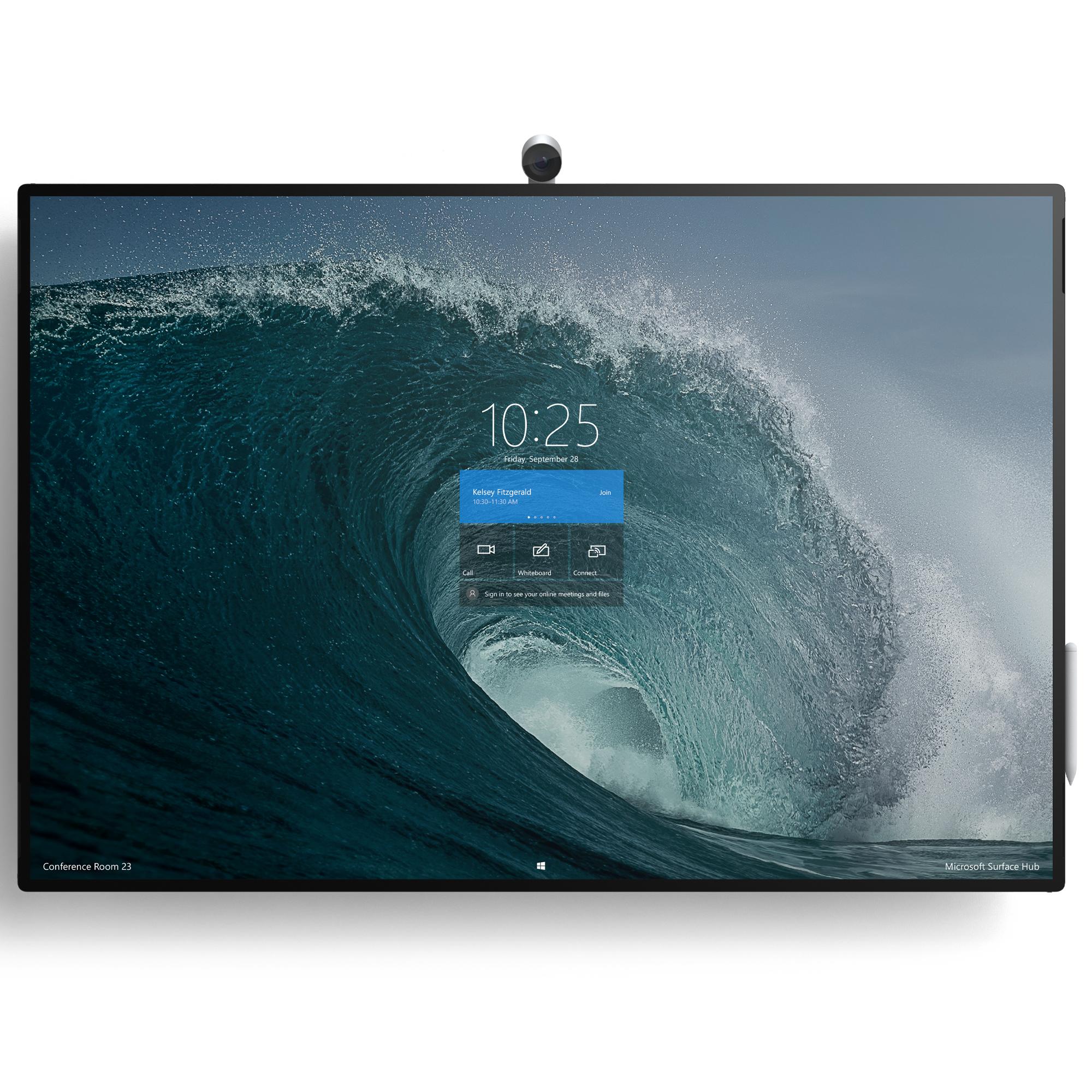 "Microsoft Surface Hub 2S pizarra y accesorios interactivos 127 cm (50"") 3840 x 2560 Pixeles Platino"