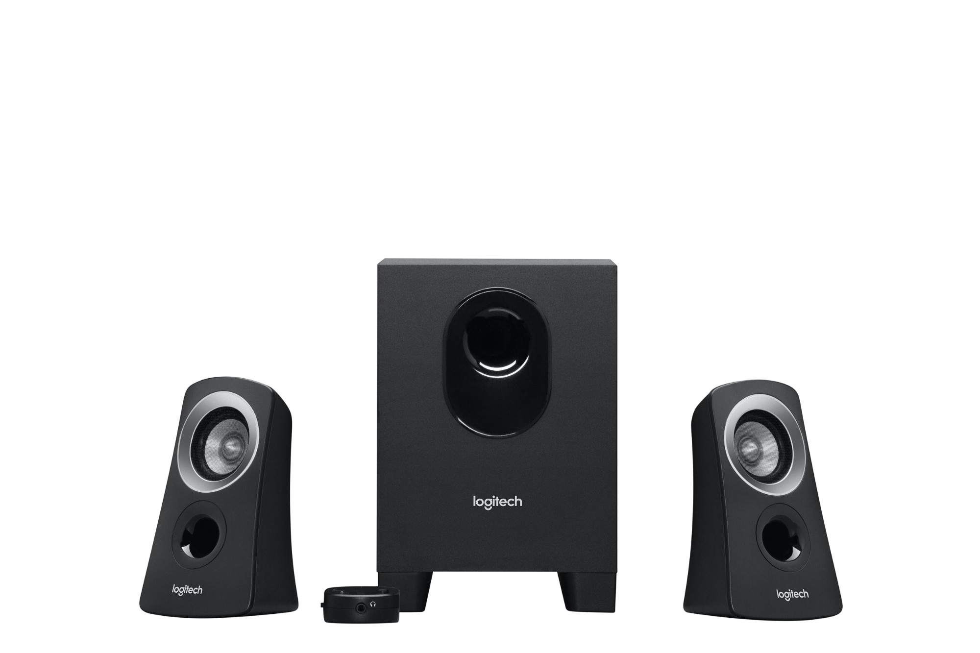 Logitech Z-313 - Speaker system - for PC - 2.1-channel - 25 Watt (Total)