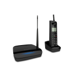 EnGenius FreeStyl 2 Analog/DECT telephone Black Caller ID