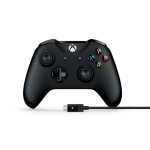 Microsoft 4N6-00002 Gamepad PC,Xbox One Black gaming controller
