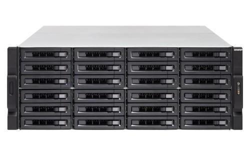 QNAP TS-2483XU-RP Ethernet LAN Rack (4U) Black NAS