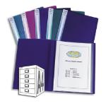Snopake Electra Display Books - Electra Assorted, 16 Pocket folder