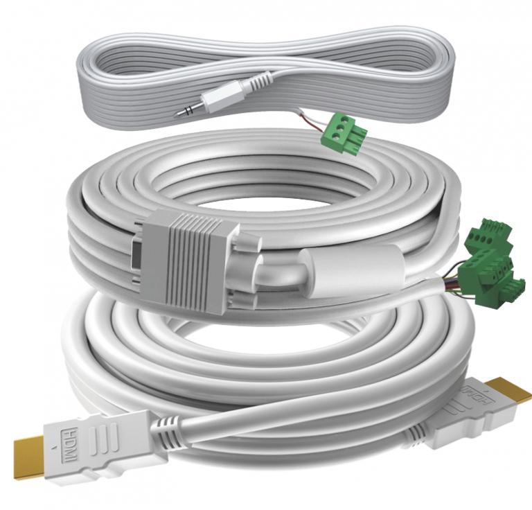 Vision TC3-PK5MCABLES VGA cable 5 m VGA (D-Sub) White