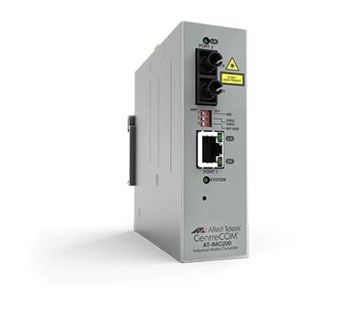 Allied Telesis AT-IMC2000T/SC-980 convertidor de medio 1000 Mbit/s 850 nm Multimodo Gris