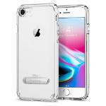 """Spigen iPhone 8 Case Ultra Hybrid S mobiele telefoon behuizingen 11,9 cm (4.7"""") Hoes Transparant"""