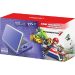 "Nintendo New 2DS XL + Mario Kart 7 portable game console Grey,Purple 4.88"" Touchscreen Wi-Fi"