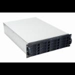 TGC Rack Mountable Server Chassis 3U 650mm Depth, 16x Ext 3.5' Bays, 2x Int 2.5' Bays, 1x Opp Drive, 7x