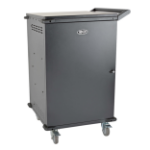 Tripp Lite CSC42AC portable device management cart/cabinet Black