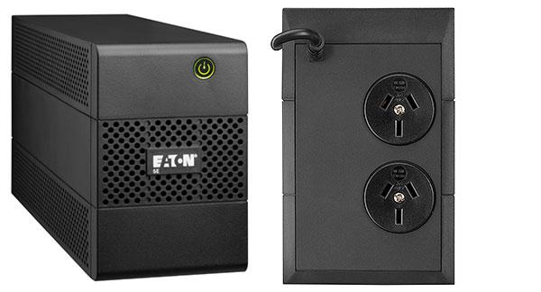 EATON 5E UPS 650VA/360W 2 x ANZ OUTLETS, no Fan