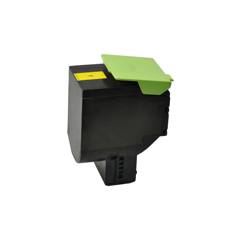 V7 Tóner para impresoras Lexmark seleccionadas - Sustitución del número de pieza del cartucho OEM80C2HY0