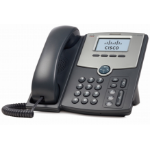 Cisco SPA512G Black, Silver Wired handset 1lines LCD IP phone