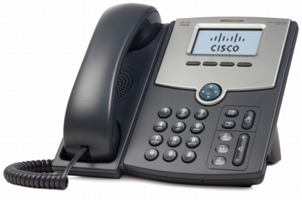 Cisco 1 Line Ip Phone Spa512g With Display Poe And Gigabit Pc Port