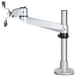 "StarTech.com ARMPIVOTB2 flat panel desk mount 30"" Silver"