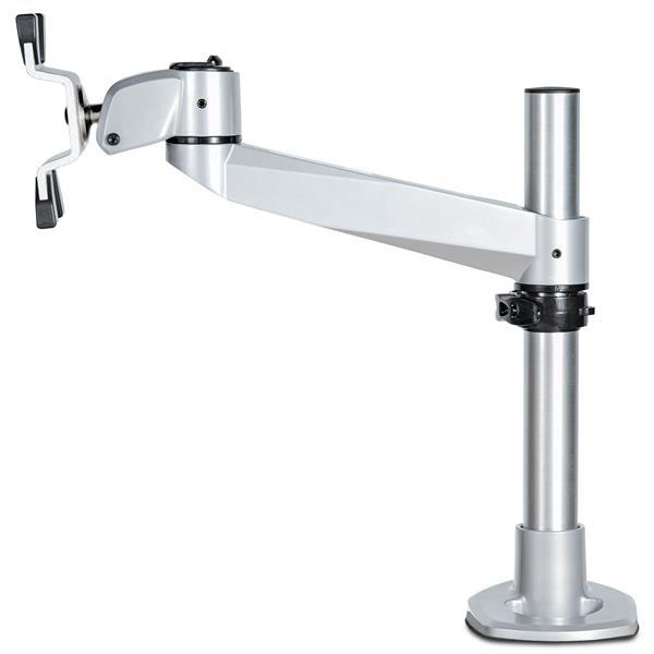 "StarTech.com ARMPIVOTB2 flat panel bureau steun 76,2 cm (30"") Zilver"