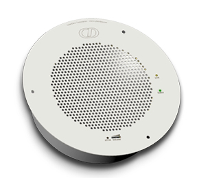 CyberData Systems SIP-enabled IP V2 White loudspeaker