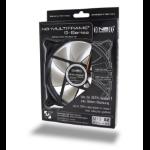Noiseblocker M12-S2 computer cooling component Computer case Fan Black, Grey