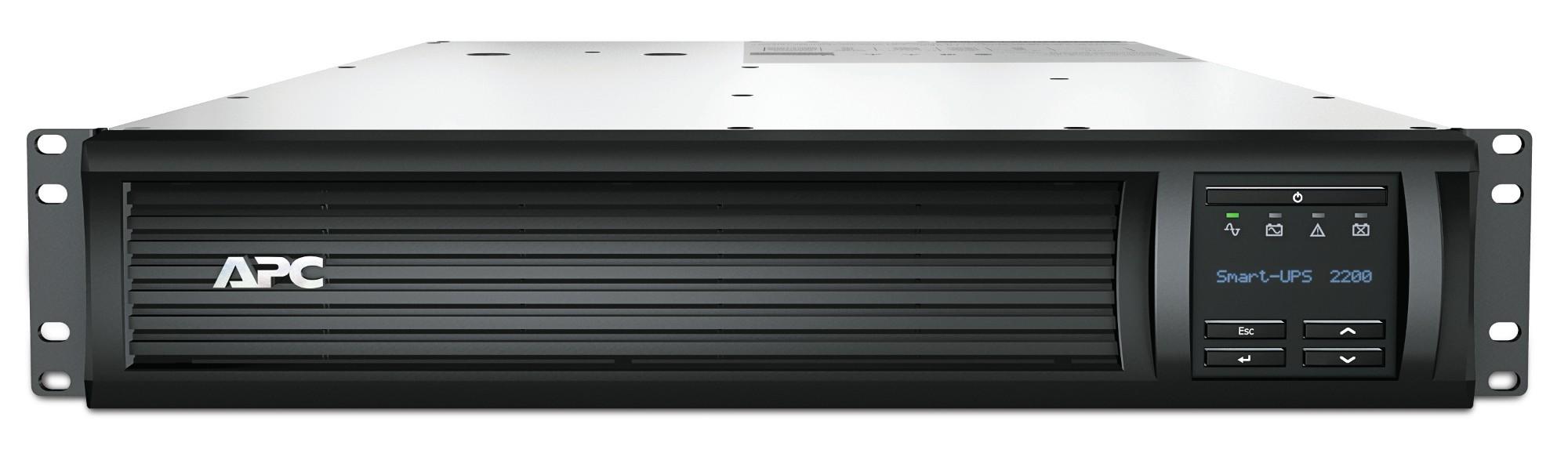 APC Smart-UPS 2200VA LCD RM 2U 230V with SmartConnect sistema de alimentación ininterrumpida (UPS) Línea interactiva 1980 W 9 salidas AC