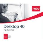 Nobo Barracuda Flipchart Pad 40 sheets (B1)