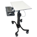 Ergotron TeachWell Mobile Digital Workspace Multimedia cart Grafiet, Grijs