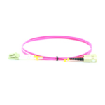 Microconnect 20m LC/PC-SC/PC fibre optic cable LC/PC SC/PC OM4 Violet
