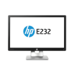 "HP EliteDisplay E232 23"" Full HD IPS Matt Black computer monitor"