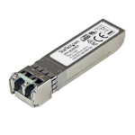 StarTech.com MSA Uncoded SFP+ Module - 10GBASE-SR - 10GbE Multi Mode Fiber (MMF) Optic Transceiver - 10GE Gigabit Ethernet SFP+ - LC 300m - 850nm - DDM