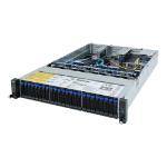 Gigabyte R282-Z91 server barebone Socket SP3 Rack (2U) Black
