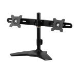 "Amer AMR2S 24"" Freestanding Black flat panel desk mount"